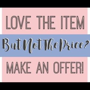 Other - I❤️offers!! 😁